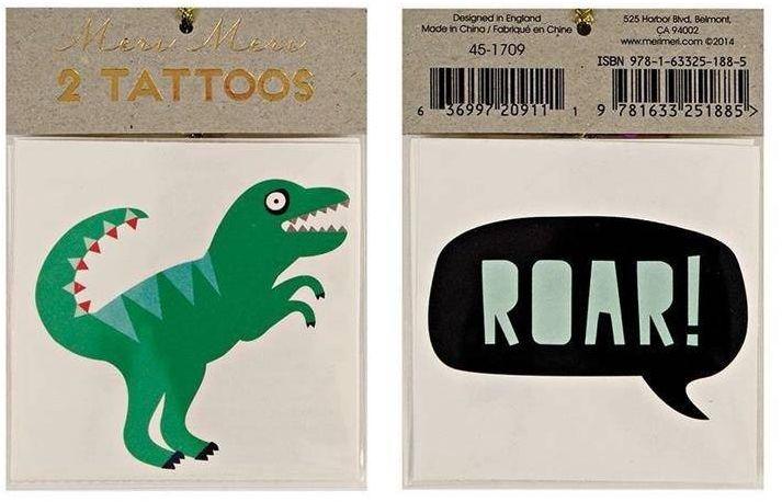 Tatuaże roar