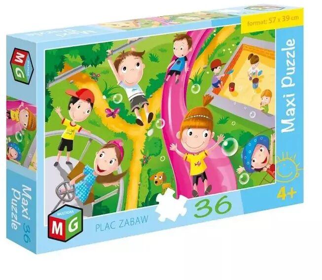 Maxi Puzzle 36 Plac zabaw - Multigra