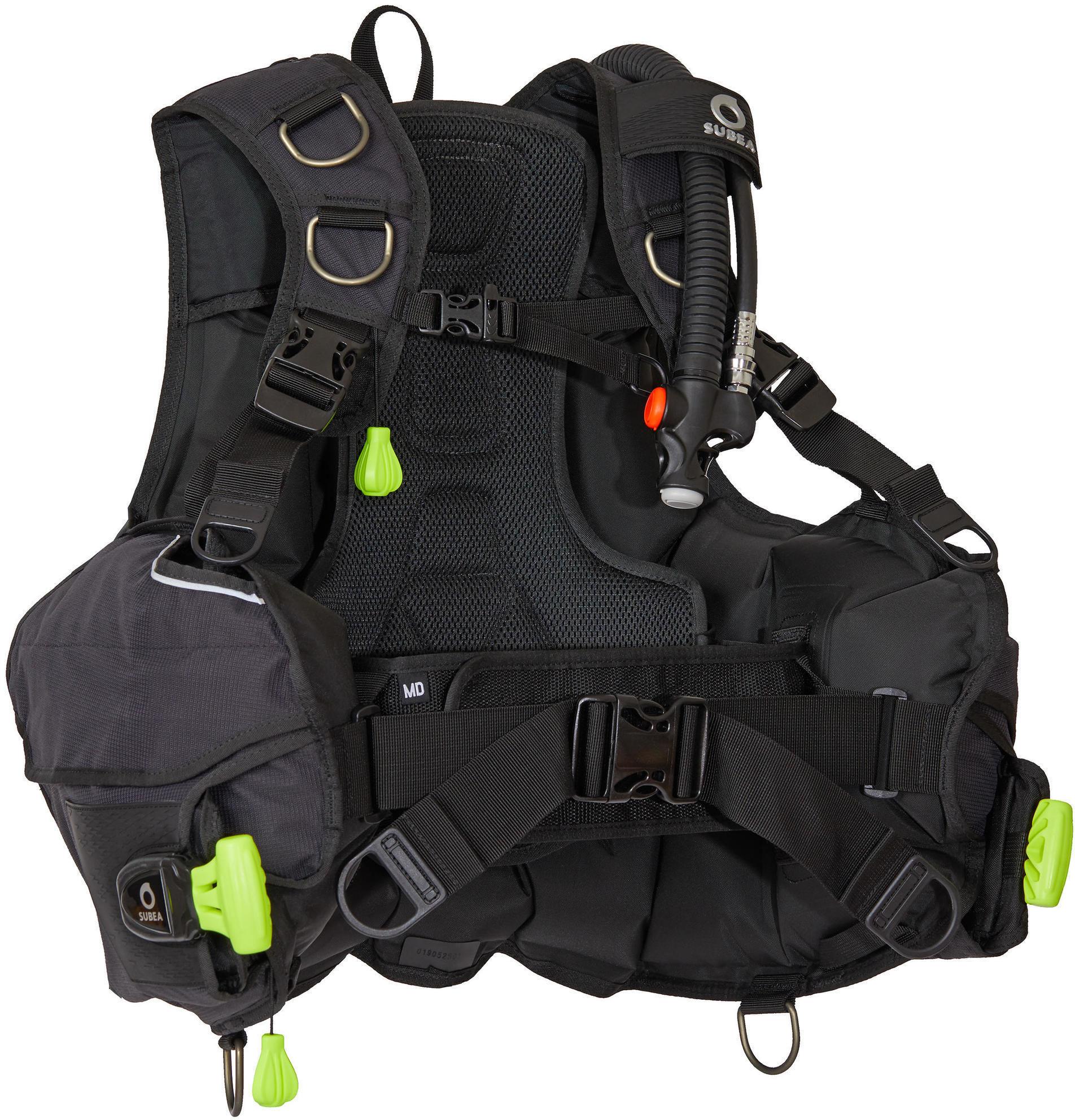 Jacket nurkowy klasyczny SCD 500 model 2020