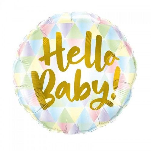 Balon foliowy Hello Baby PasteLove