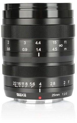 Obiektyw Meike MK-25mm F2,0 Canon EF-M