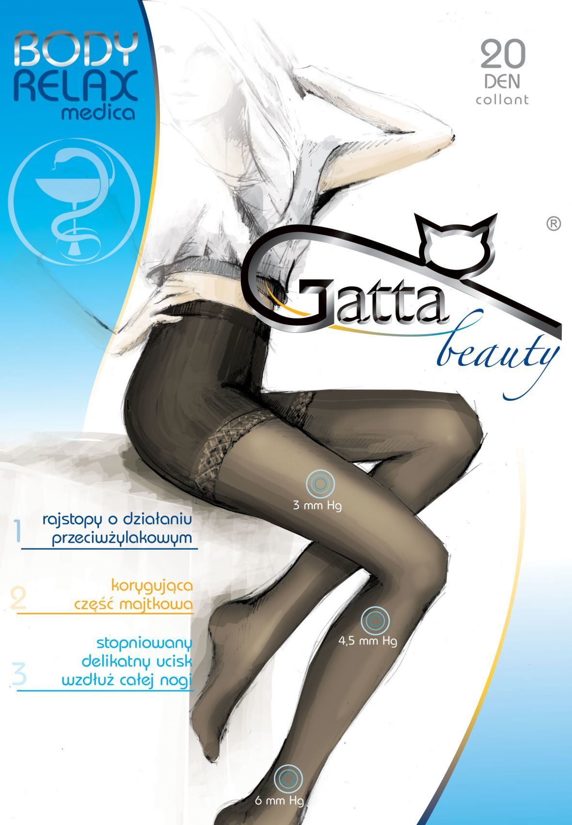 RAJSTOPY GATTA B RELAXMEDICA 20