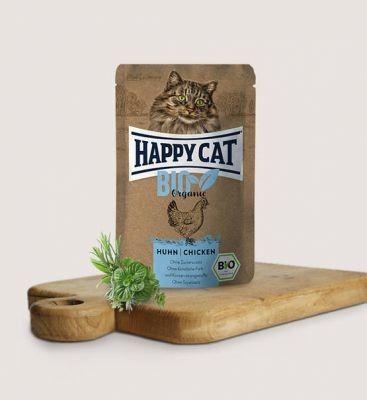 HC-0553 Happy Cat Bio Kurczak 85g