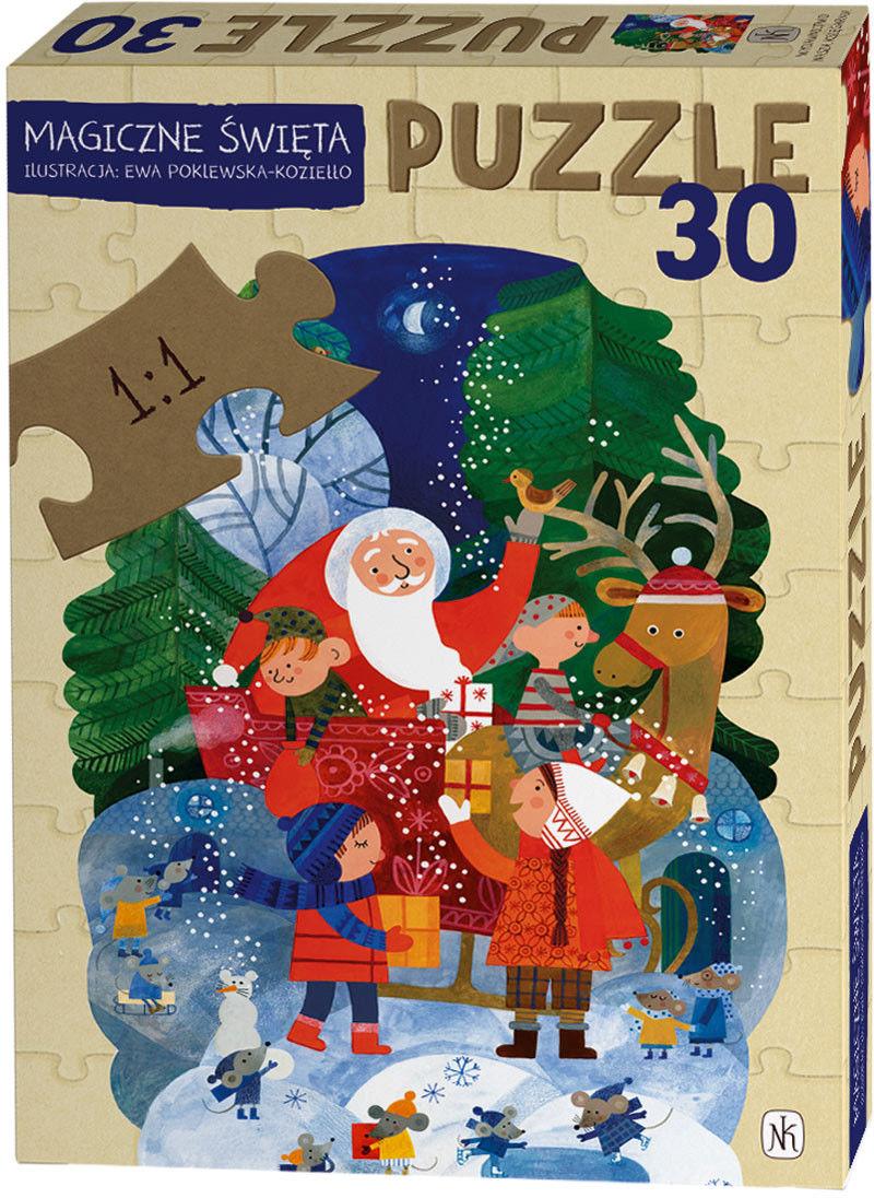 Puzzle Magiczne Święta