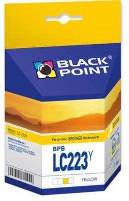 Tusz BLACK POINT BPBLC223Y Zamiennik Brother LC223Y