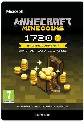 Minecraft - Minecoins 1720 monet Xbox One Dostęp po opłaceniu zakupu
