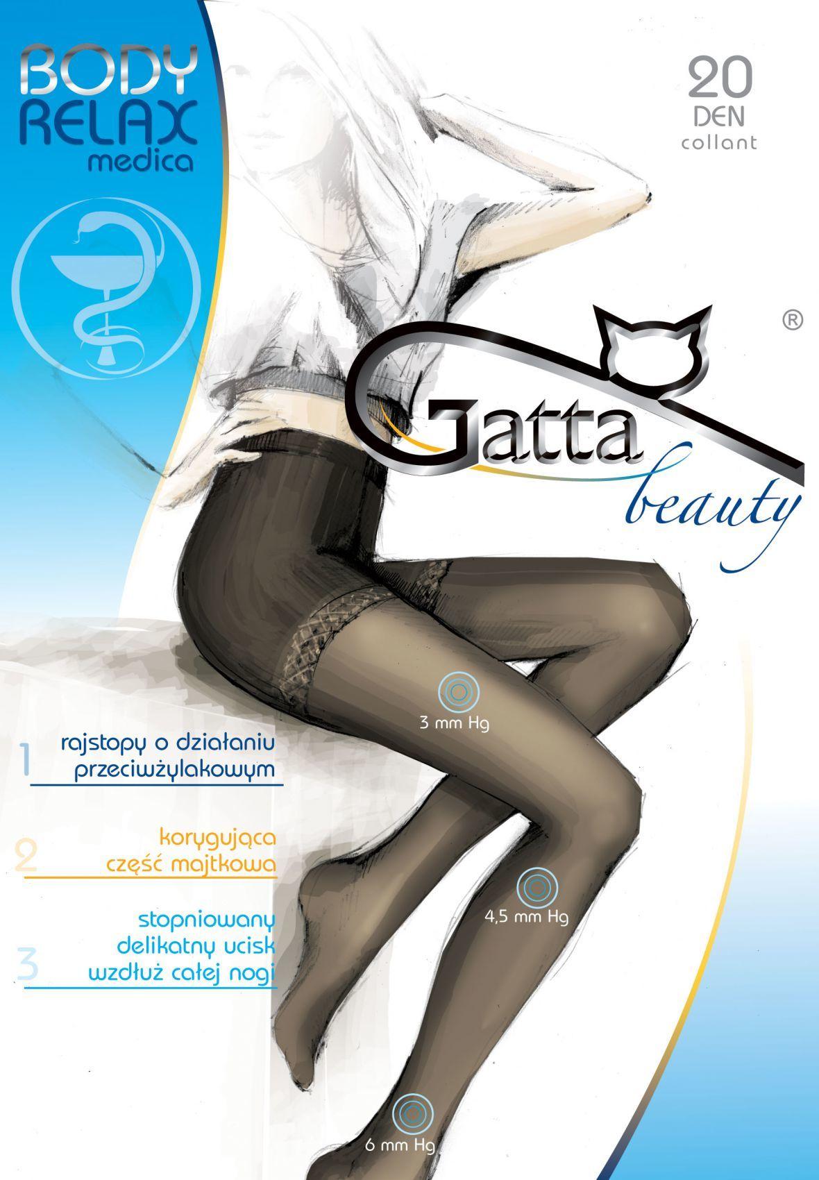 RAJSTOPY GATTA B RELAXMEDICA 20XL