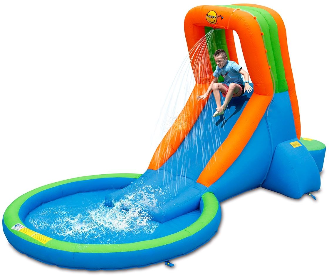 Dmuchany basen ze zjeżdżalnią - HappyHop