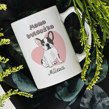 Mama buldożka - Personalizowany Kubek