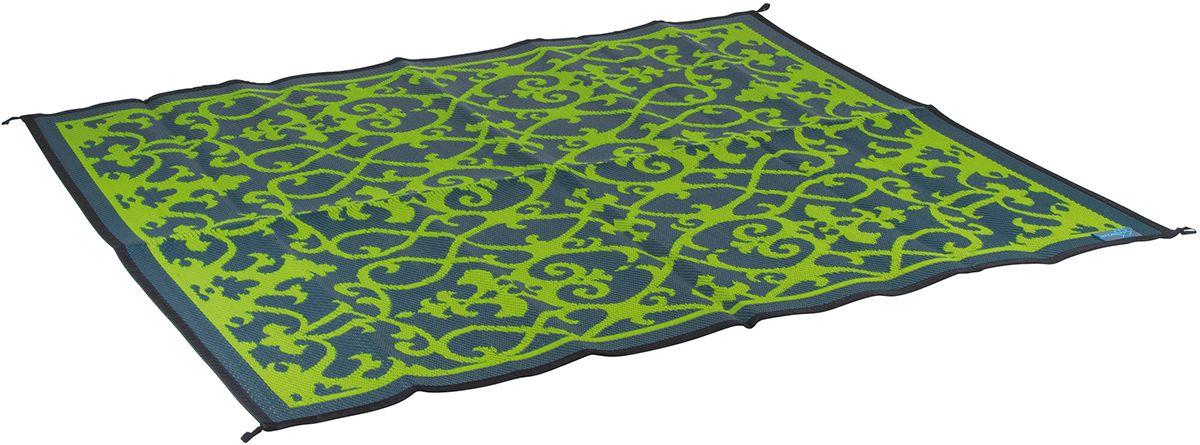 Koc plażowy dwustronny Chill mat Picnic 2 x 1,8m Zielony
