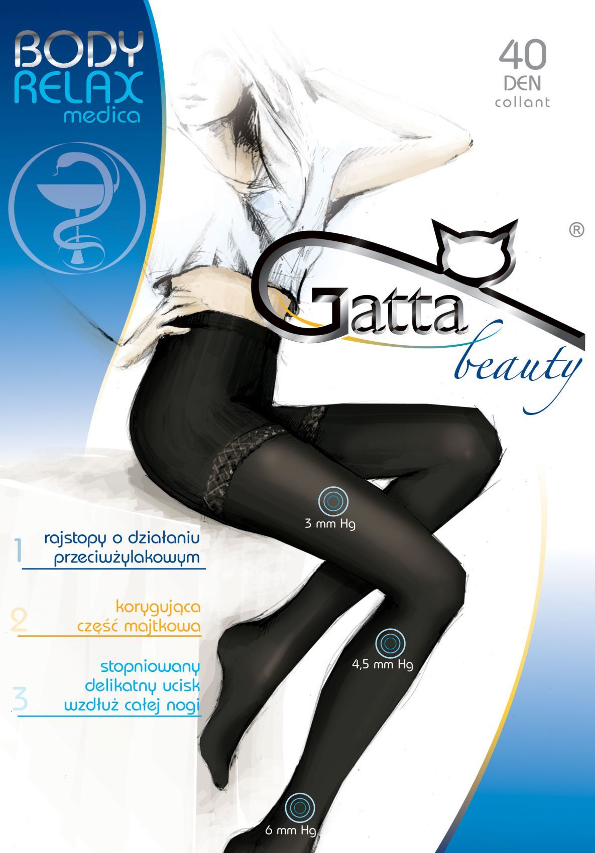 RAJSTOPY GATTA B RELAXMEDICA 40