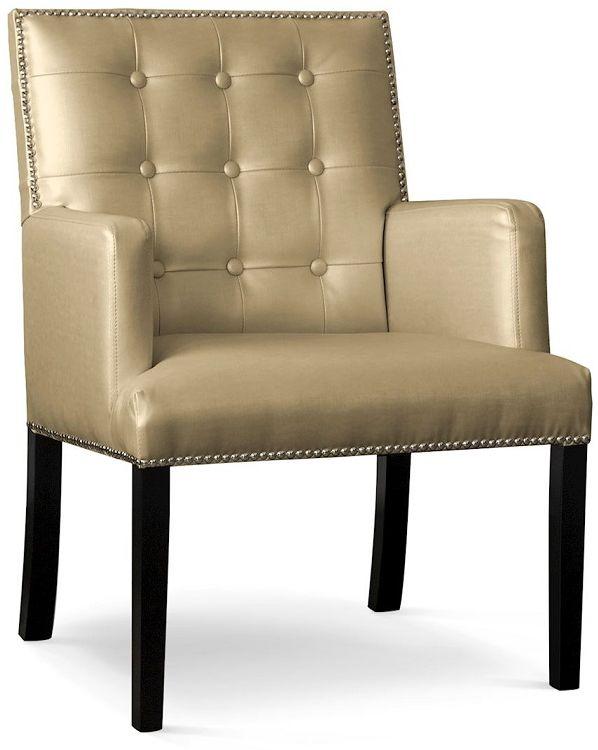 Fotel AVANTI złoty