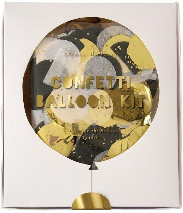 Zestaw balonów konfetti shine