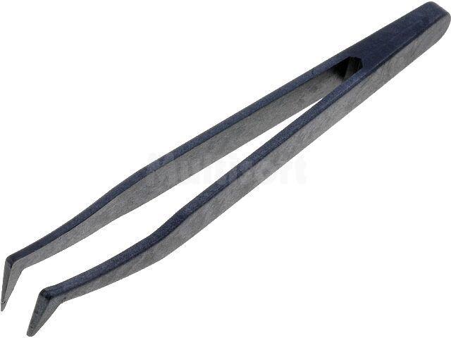 Pęseta antystatyczna 120mm ostra zagięta