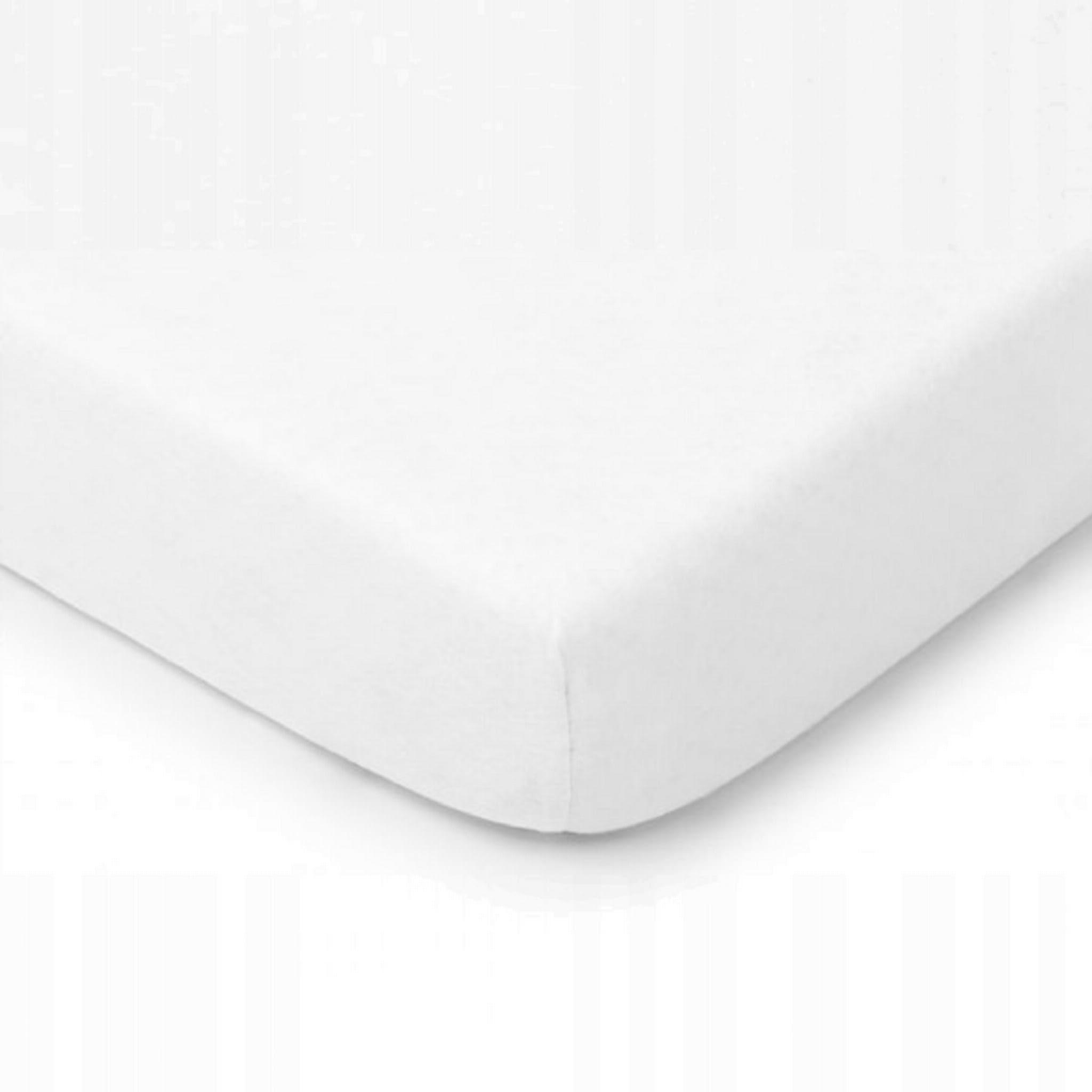 Prześcieradło Jersey 220x200 z gumką białe biały biel