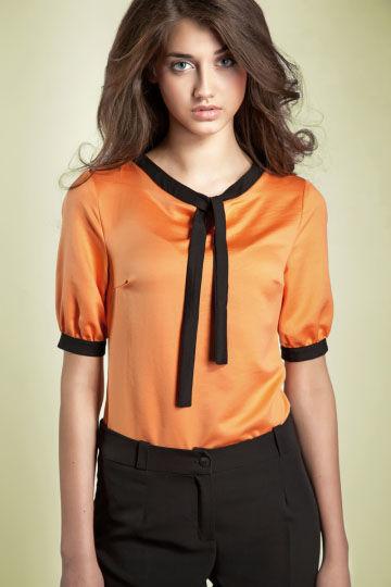 Bluzka Madeline b21 pomaranczowa