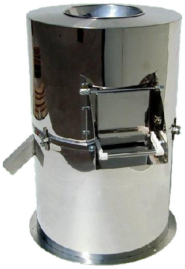 Obieraczka nierdzewna do ziemniaków 40kg 1100W 880x780x(H)1000mm