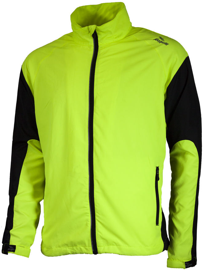 ROGELLI RUN DRUMMOND - lekka męska kurtka do biegania, kolor: Fluor Rozmiar: XL,rogelli-drummond-fluor