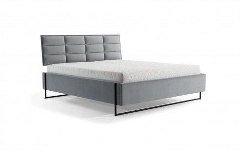 Łóżko SOFT LOFT tapicerowane z pojemnikiem na pościel NEW ELEGANCE