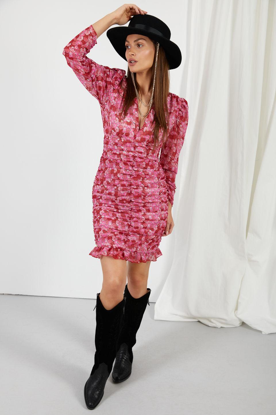 Sukienka LG524 druk 17