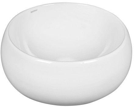 Umywalka ceramiczna nablatowa 40,5x15,5 cm okrągła MISA