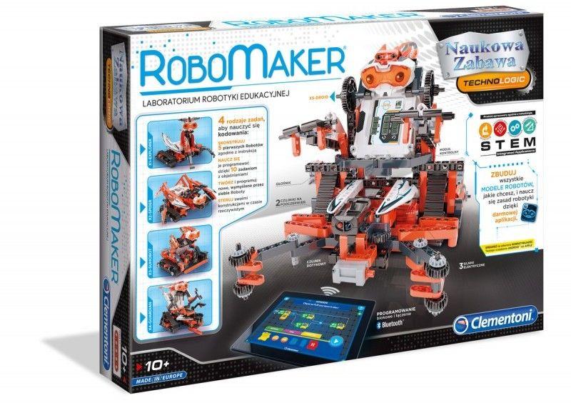 Robomaker Pro Centrum Robotyki CLEMENTONI 50523