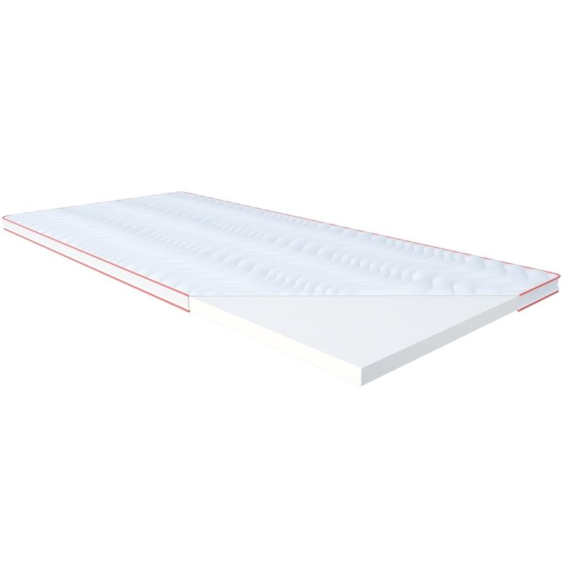 Materac POSŁANIOWY LATEX JANPOL nawierzchniowy : Rozmiar - 200x190, Pokrowce Janpol - Smart