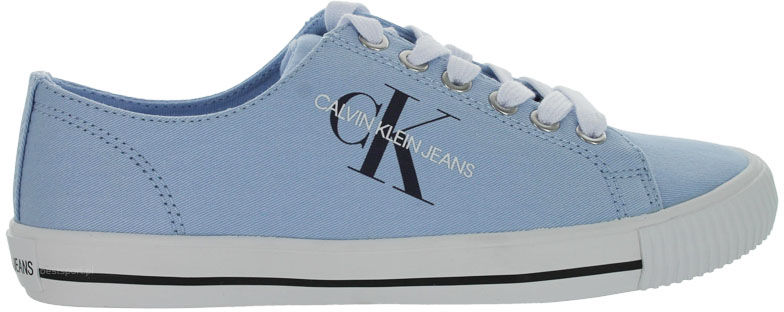 Trampki damskie Calvin Klein Diamante niebieskieB4R0896 CHAMBRAY BLUE
