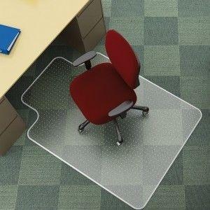 "Mata pod krzesło na dywany ""T"" Q-CONNECT 91x122 cm /KF02255/"
