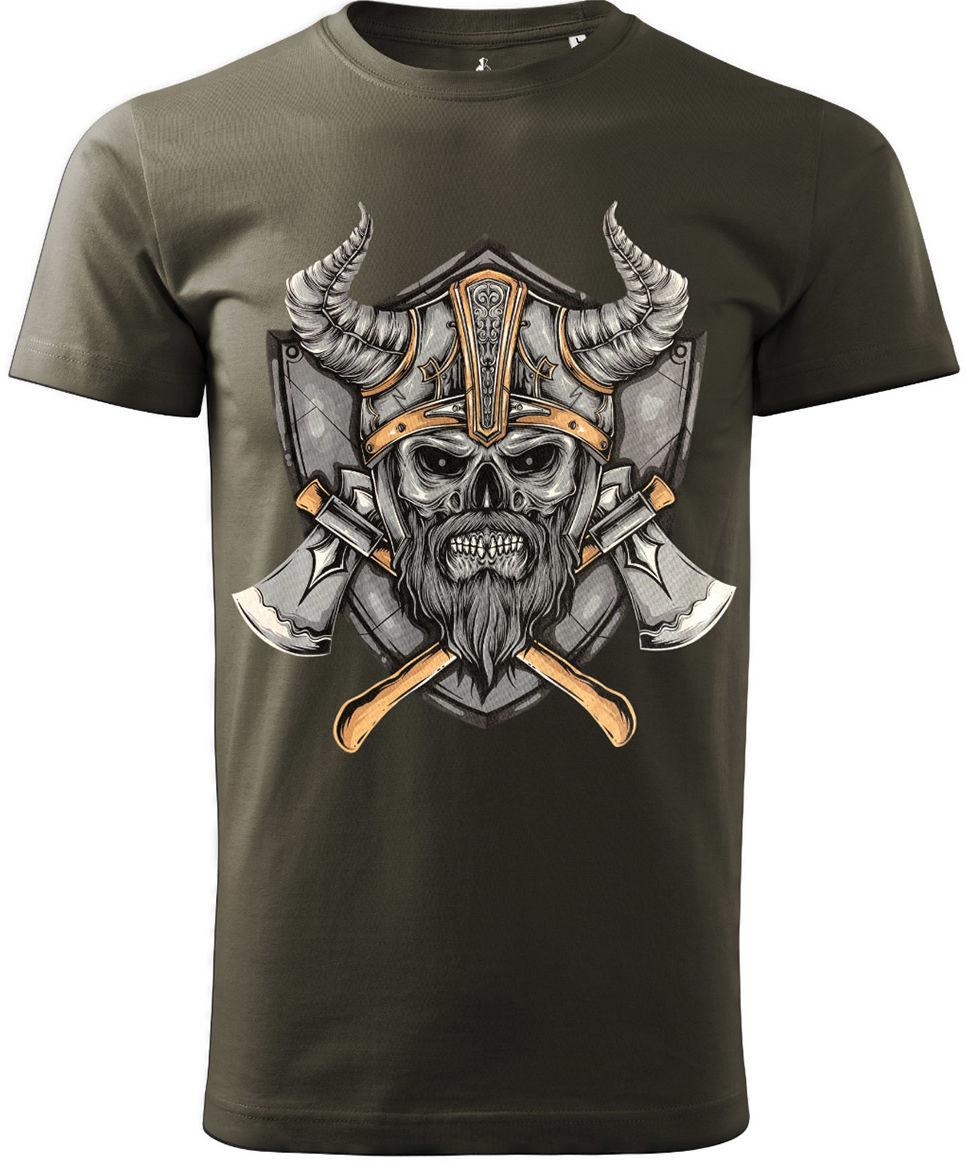 Koszulka T-Shirt Voyovnik Viking - khaki (V-2102-19-67)