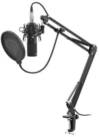 Mikrofon Genesis Radium 300 studyjny XLR ramię popfiltr