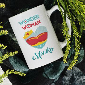 Wonder woman - Personalizowany Kubek