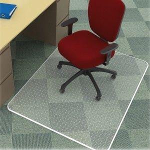 Mata pod krzesło na dywany prostokątna Q-CONNECT 117x152 cm /KF15899/