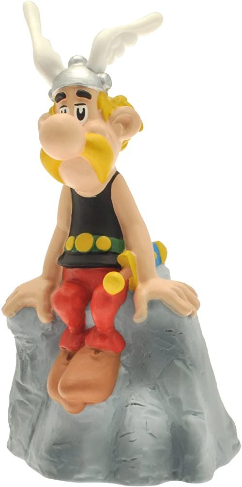Plastoy SAS 80039 - Asterix na skałach - świnka skarbonka