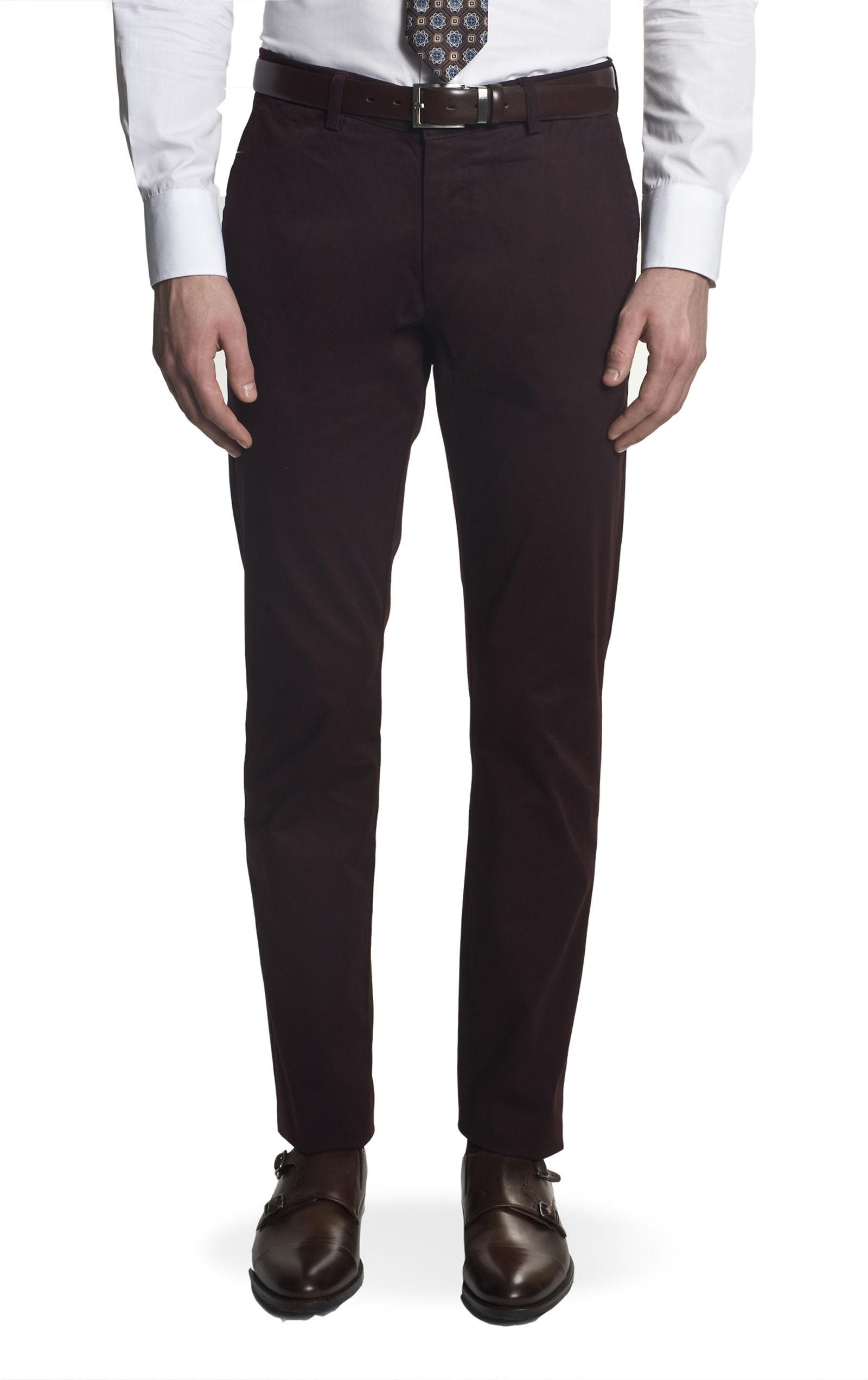 spodnie carnot 217 bordo