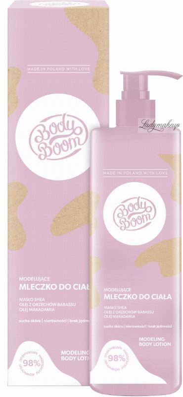 BodyBoom - MODELING BODY LOTION - Modelujące mleczko do ciała do skóry suchej i pozbawionej jędrności - 250 ml