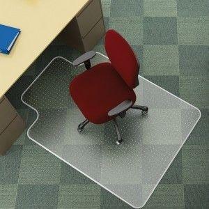 "Mata pod krzesło na dywany ""T"" Q-CONNECT 114x135 cm /KF02256/"