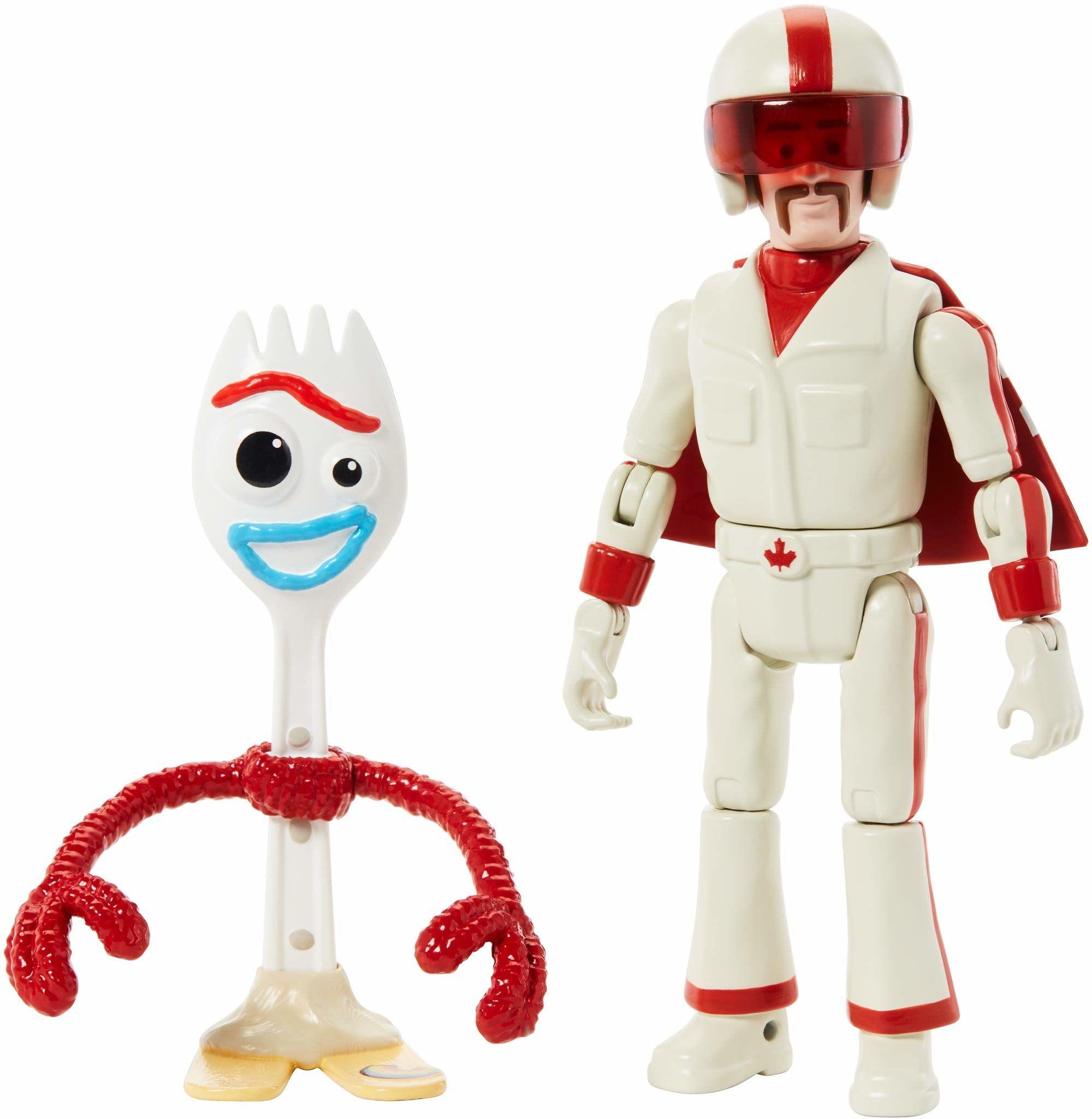 Mattel GGX29 - Disney Pixar Toy Story 4 Forky i Duke Caboom figurki akcji, zabawka od 3 lat