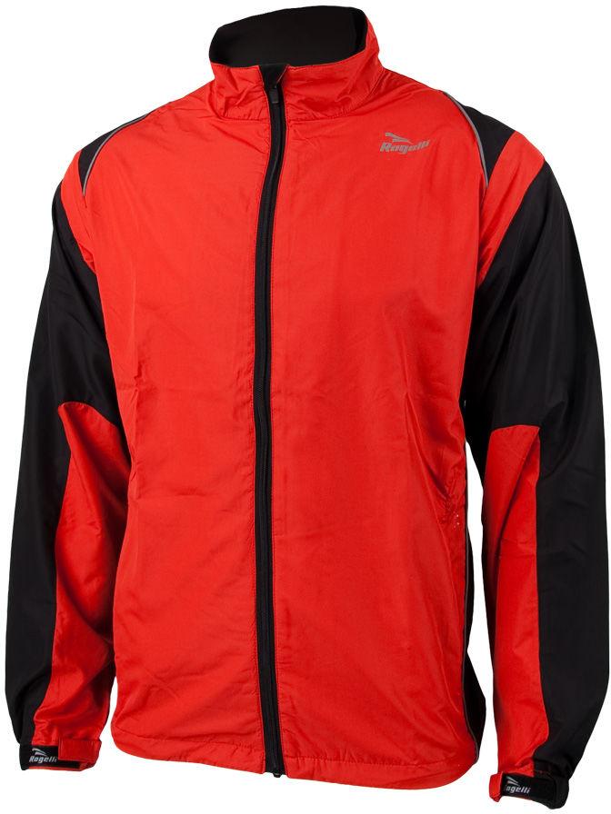 ROGELLI RUN DRUMMOND - lekka męska kurtka do biegania Rozmiar: XL,rogelli-drummond-red
