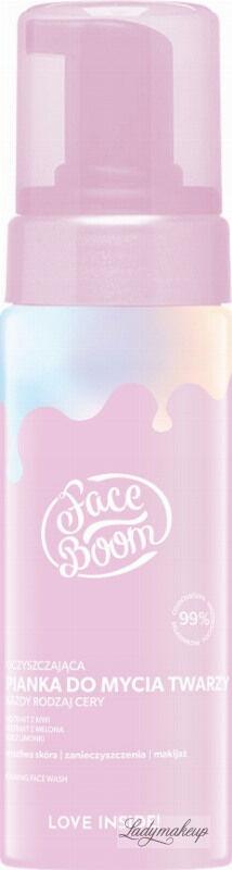 BodyBoom - Face Boom - FOAMING FACE WASH - Oczyszczająca pianka do mycia twarzy - 150 ml