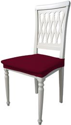Più bello PB-BO zestaw elastycznych pokrowców na krzesła, kolor bordowy (2 sztuki), 100% poliester, standard