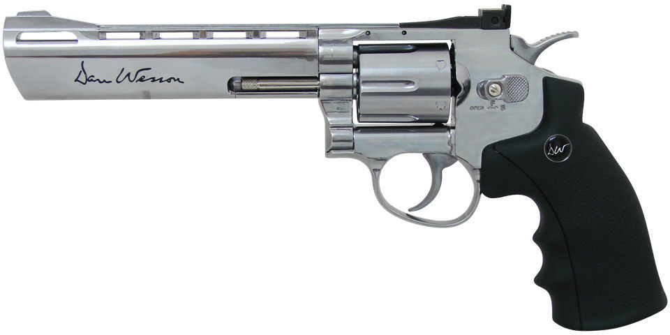 """Rewolwer 4,5mm ASG Dan Wesson 6"""" CO2 Silver"""
