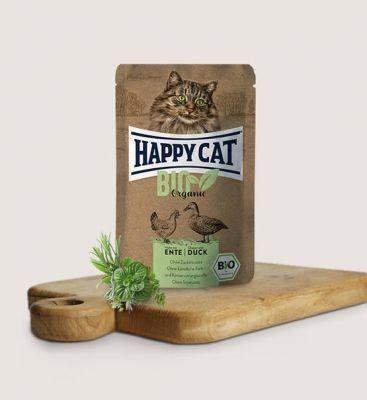 HC-0577 Happy Cat Bio Kurczak z Kaczką 85g