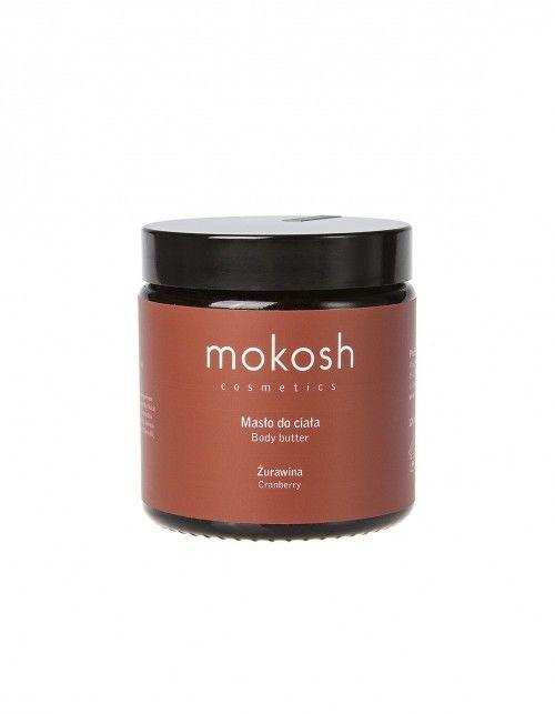 Mokosh Body Butter Cranberry Masło do ciała żurawina 120 ml