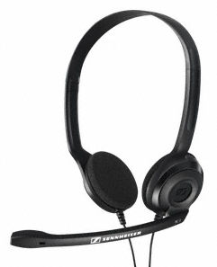 Sennheiser PC 3 CHAT Headset with a single-earband with a 2xJack 3.5mm