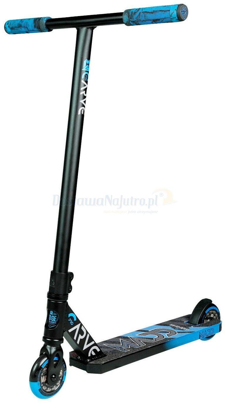 Hulajnoga wyczynowa Stunt Carve Pro-X MGP Madd Gear niebiesko-czarna