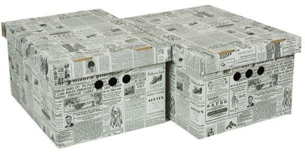 Pudło Gazeta A4 białe