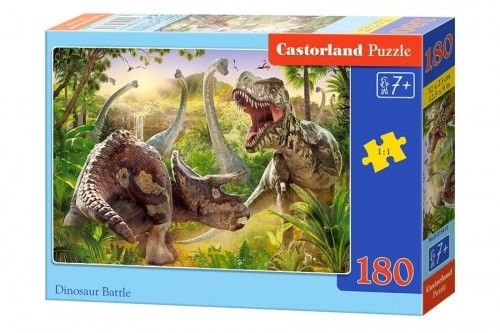 Puzzle 180 Dinosaur Battle CASTOR