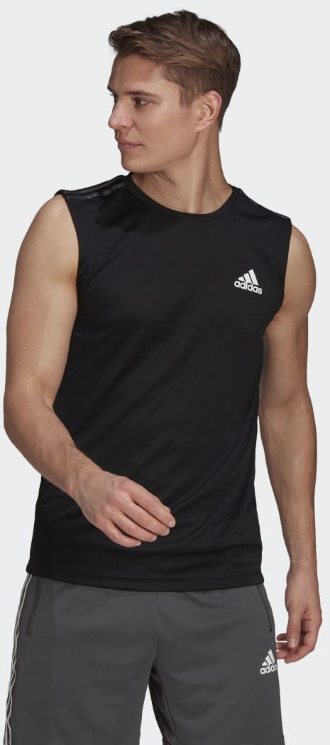 Adidas AEROREADY Designed To Move Sport 3-Stripes Tank Top
