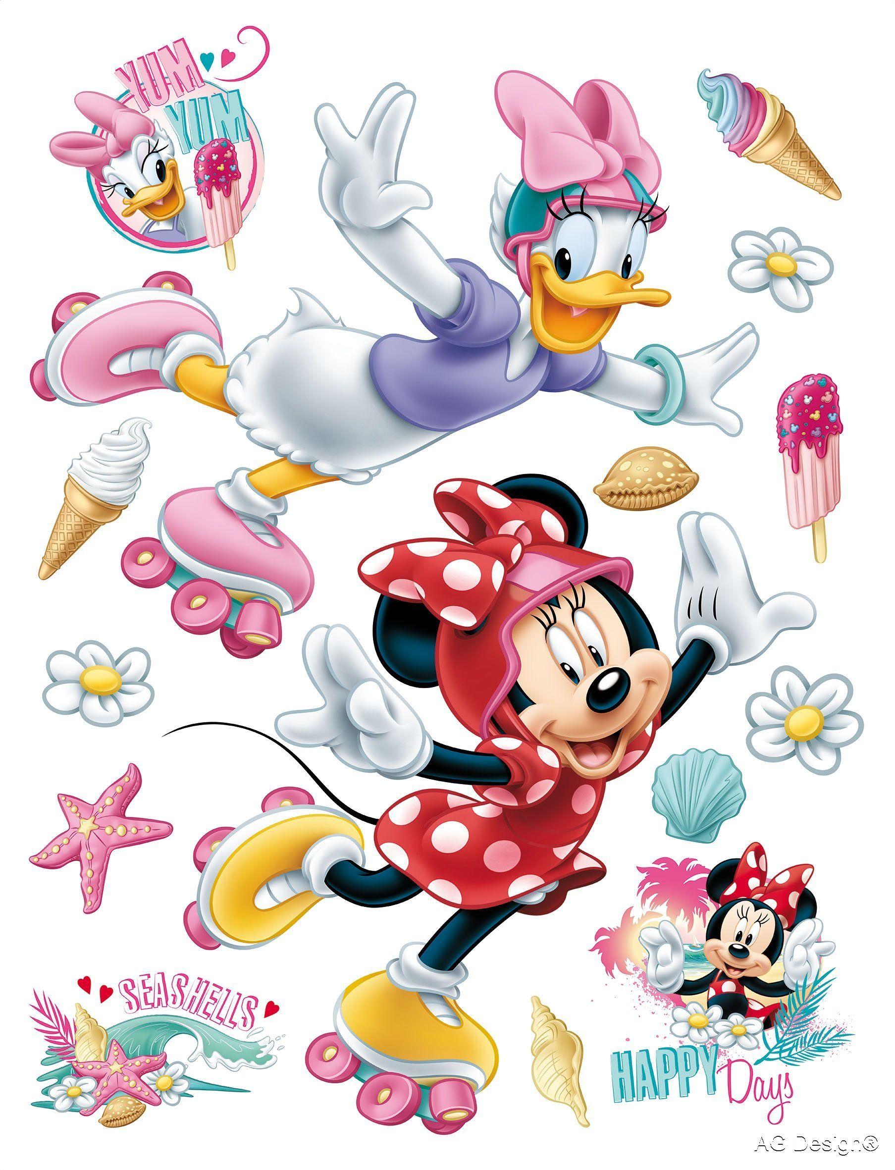 Naklejka ścienna DK 1724 Disney Minnie Mouse
